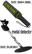 Gold detector, hand-held metal detector, airport metal detector, security metal detector